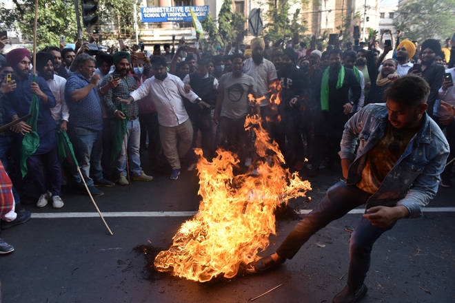 Demonstrations have been taking place across India