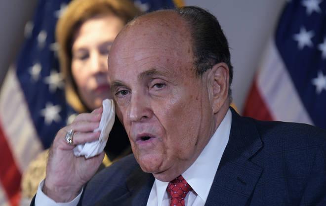 Rudy Giuliani has tested positive for coronavirus