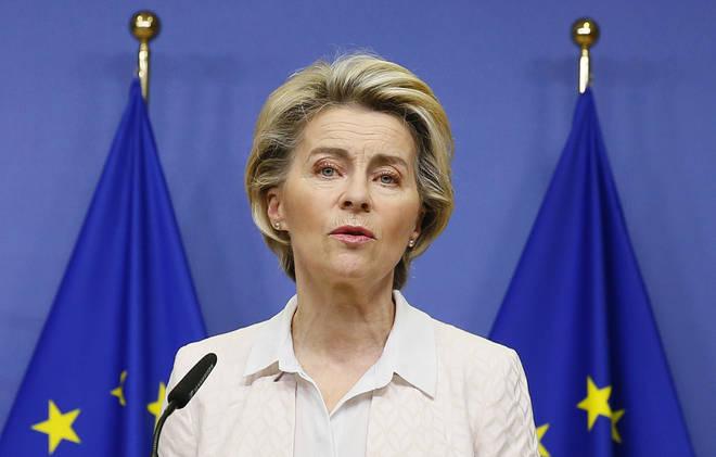 Ursula von der Leyen and Boris Johnson ordered their negotiating teams to continue on Sunday