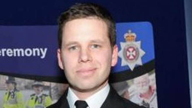 Detective Sergeant Nick Bailey, who fell ill after tending to poisoned spy Sergei Skripal and daughter Yulia