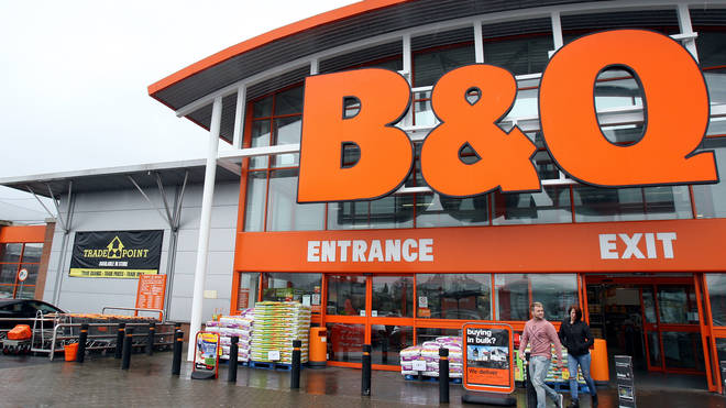 Kingfisher is the owner of B&Q and Screwfix