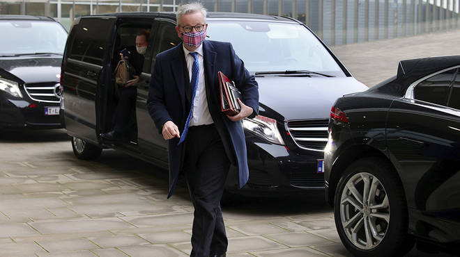 Michael Gove has headed to Brussels for last minute Brexit negotiations