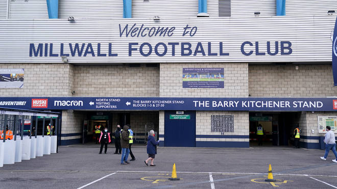 Millwall fans booed when players took the knee on Saturday