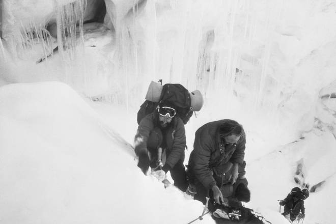 Doug Scott was part of the famous team who climbed Everest via the south-west face