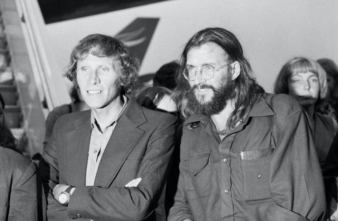 Teammate Dougal Haston (left) and Doug Scott (right) recall their experiences at Heathrow Airport following the challenge
