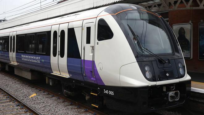 Elizabeth Line Train