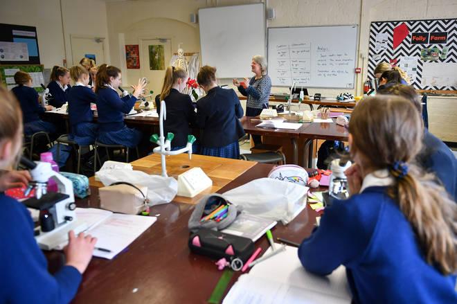 Schoolchildren have missed weeks of school due to Covid-19
