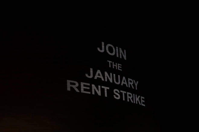Students at Manchester and Bristol are continuing their rent strike from this term into January.