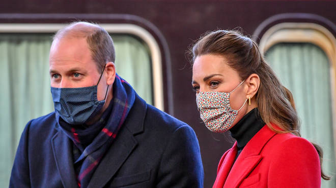 William and Kate's train tour has sparked a row over whether the royal couple broke coronavirus rules