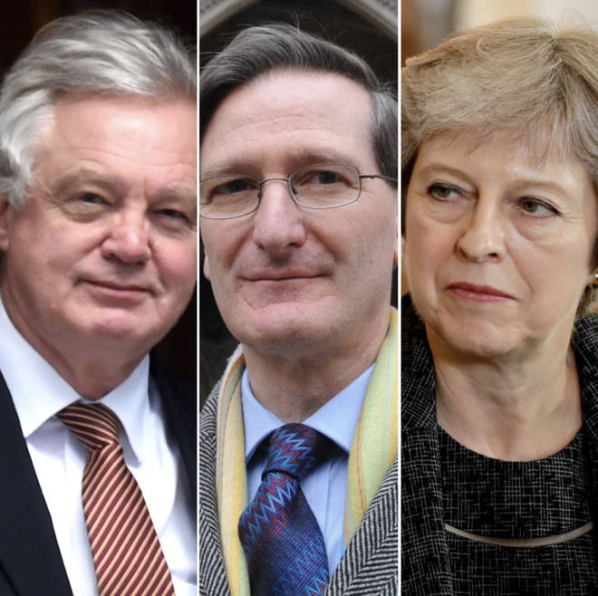 David Davis, Dominic Grieve, Theresa May