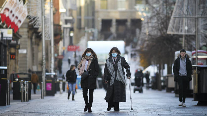 Glasgow has been under the harshest restrictions since November 20