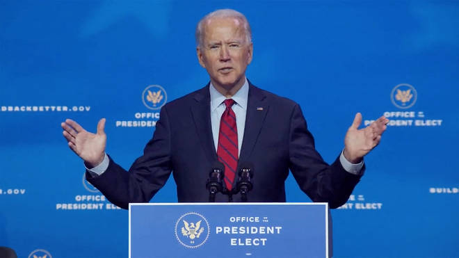 Joe Biden has vowed 100 million vaccine in first 100 days