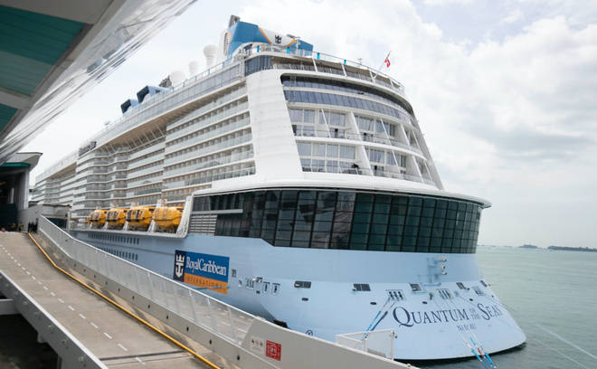 The Quantum of the Seas cut short its trip