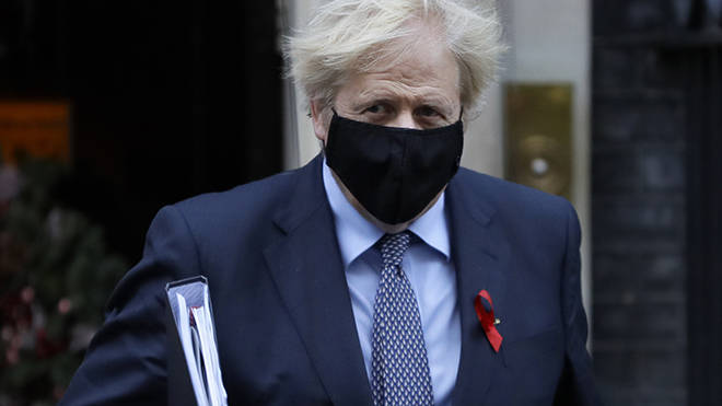 Boris Johnson will review the Covid tiers on December 16
