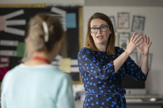 Welsh Education Minister Kirsty Williams said children should be at home and not treat the move online as an early Christmas holiday.