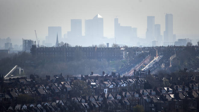 Air pollution in some areas is higher than pre-pandemic levels