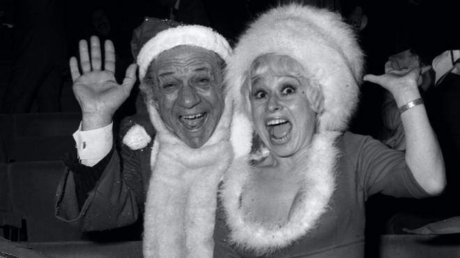 Barbara Windsor was best known for her roles in the Carry On films and Eastenders