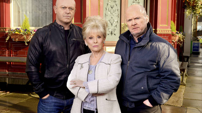 Dame Barbara was known by many for her role in Eastender as the fiery Peggy Mitchell