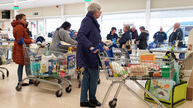 A no-deal Brexit will push prices up, supermarket bosses have warned