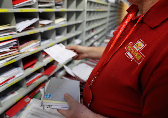 Royal Mail has said people's post will be delayed