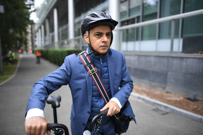 Sadiq Khan's plans include the possibility of increased charges for high polluting vehicles.
