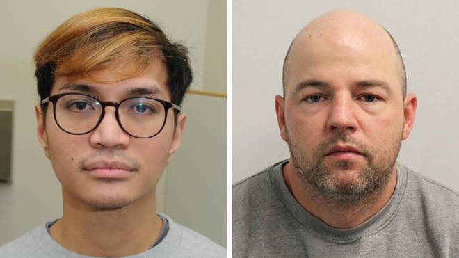 Serial rapists Reynhard Sinaga (left) and Joseph McCann (right) are both serving life sentences.