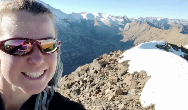 Esther Dingley went missing in the Pyrenees