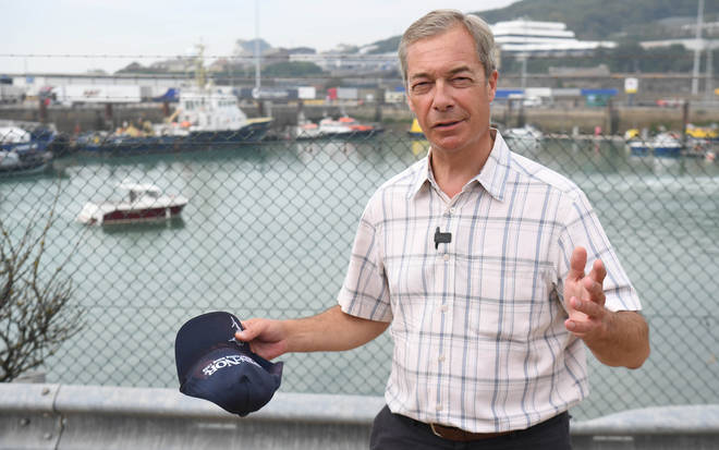 Nigel Farage warned the PM that bending to the EU could end his political career