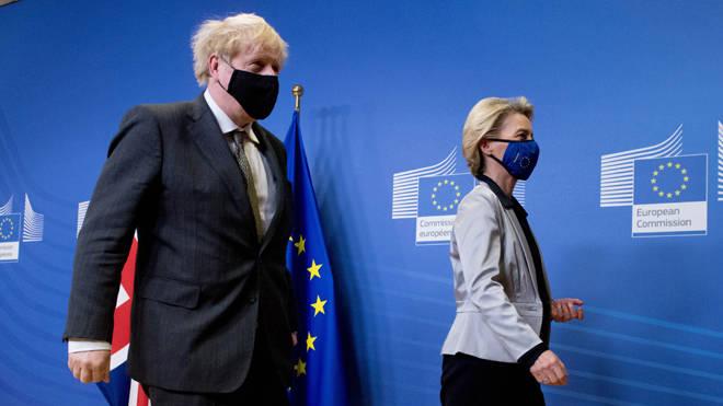 The Prime Minister and Ursula von der Leyen spoke today