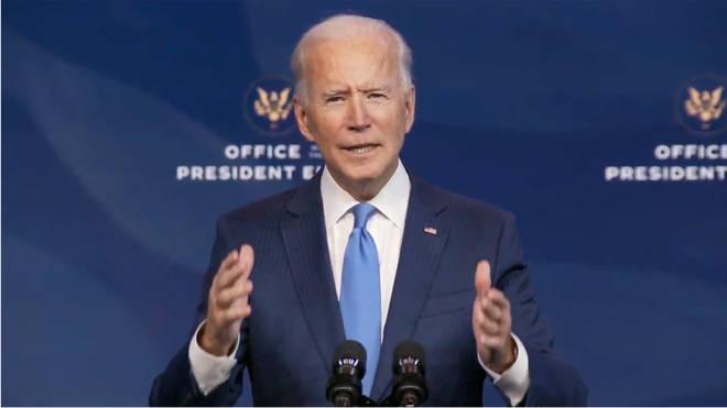 President-elect Joe Biden has cleared the 270-vote threshold