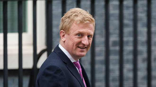 "Oliver Dowden said Britain is setting a ""global standard"""