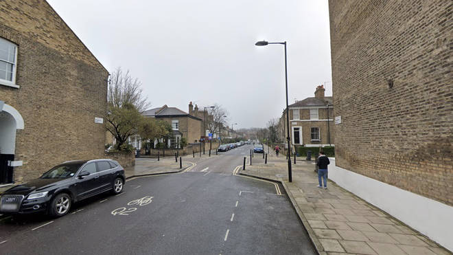 A man has been left fighting for life following a triple shooting in Hackney