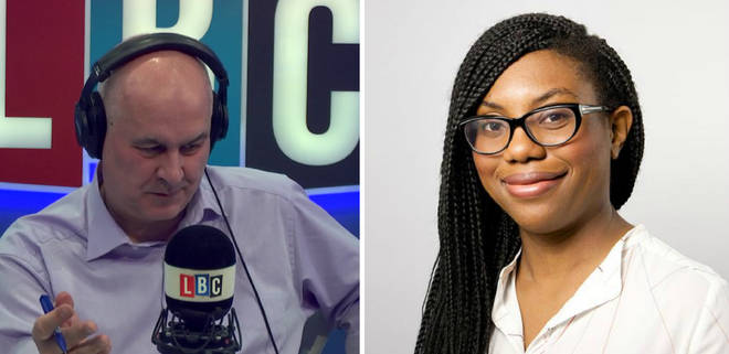 "Kemi Badenoch told Iain Dale she was ""slapped in the face"" for being a black Conservative."