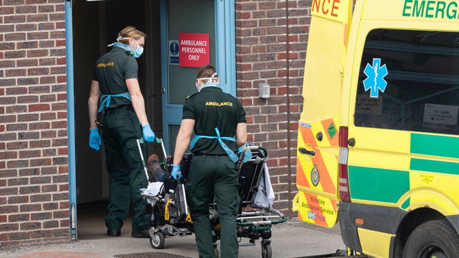 The number of weekly Covid deaths in England and Wales has dropped for the first time in three months