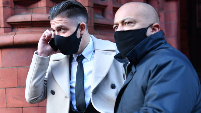 Grealish leaves court after being banned from driving