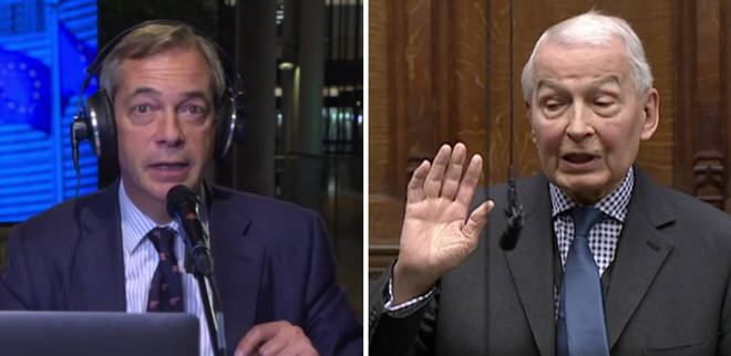 Nigel Farage Frank Field