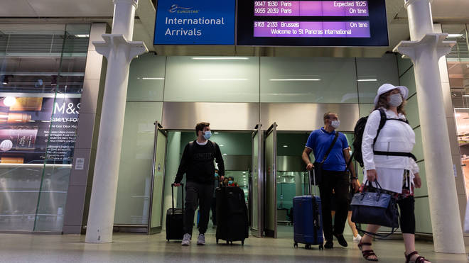 From Tuesday, travellers arriving in England will be allowed to end their self-isolation if they pay to take a coronavirus test at least five days after they land, and get a negative result