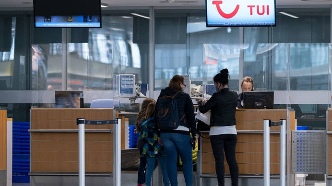 People arriving from travel corridors are exempt from quarantining