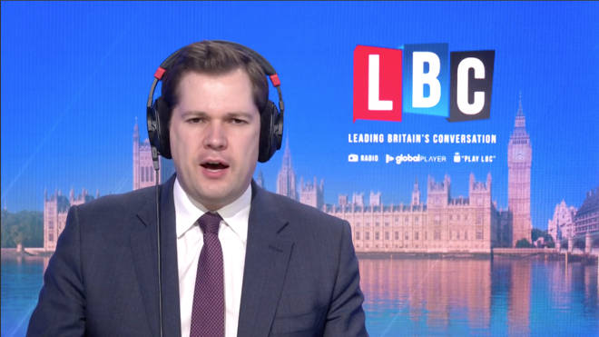 """Robert Jenrick told LBC the Christmas """"legal framework is going to remain the same""""."""