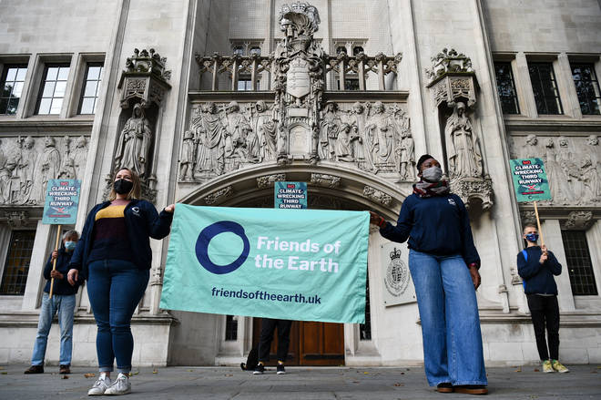 Climate activists have lost a long-running legal battle to stop a third runway at Heathrow