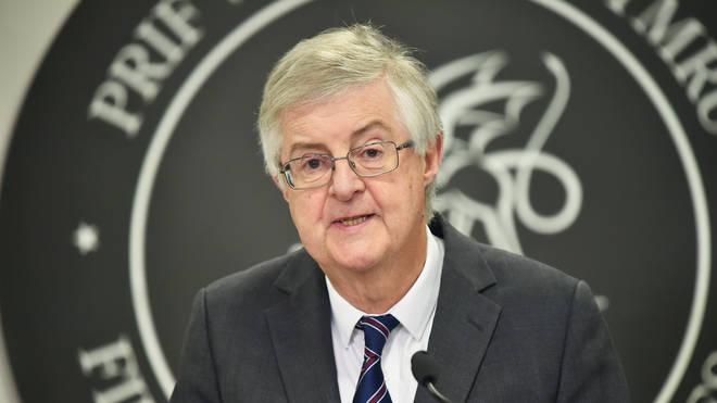 Mark Drakeford broke rank to announce the new measures