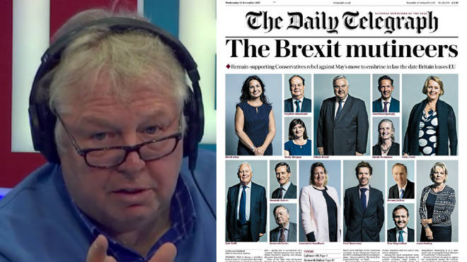 "Nick Ferrari spoke to one of the ""Brexit Mutineers"""