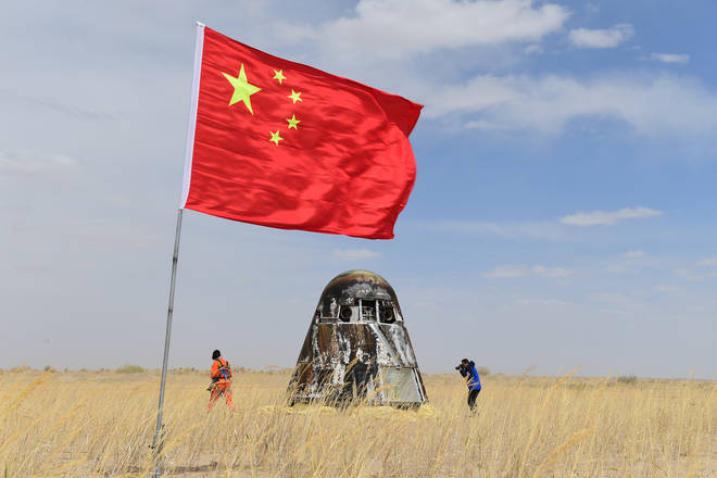 China has ramped up its space programme in recent years