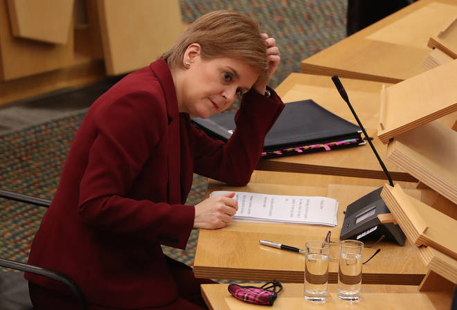Nicola Sturgeon apologised for the coronavirus app error