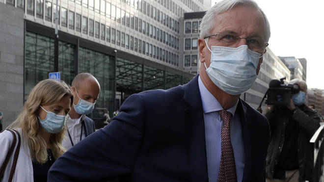 Michel Barnier said 'good progress' has been made
