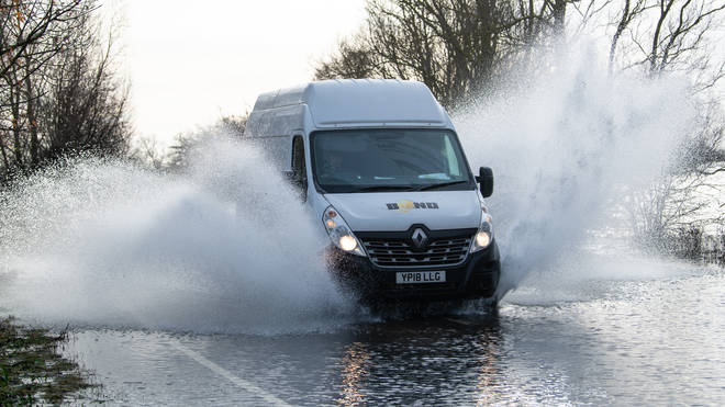 Torrential rain is expected for the affected areas with up to 80mm expected in some places