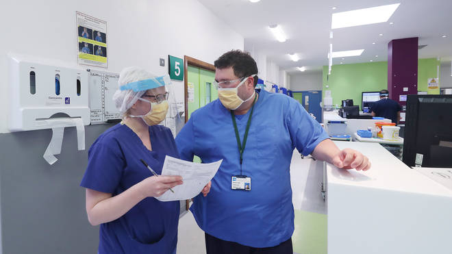 Coronavirus patient levels in eastern England are higher than they were in the first wave