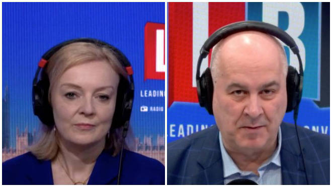 Liz Truss was grilled by Iain Dale