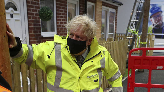 Boris Johnson has not ruled out the possibility of a third national lockdown