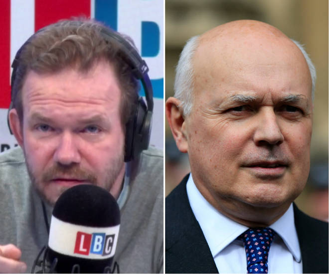James O'Brien criticised Iain Duncan Smith